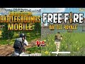 PUBG Official Mobile Vs Free Fire : Battle Royale - Which One Is Best ?