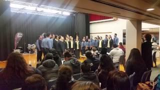 St Pauls and Marist Gospel choir 2015