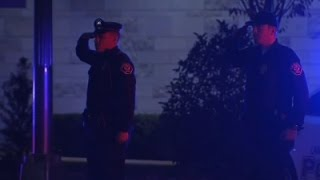 Raw: NJ Police Salute Fallen State Trooper
