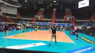 Смотреть видео Волейбол. Зенит Санкт-Петербург vs Кузбасс Кемерово. Пролог онлайн