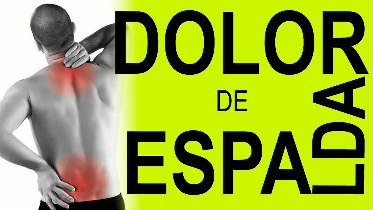 REMEDIOS CASEROS PARA EL DOLOR DE ESPALDA - YouTube