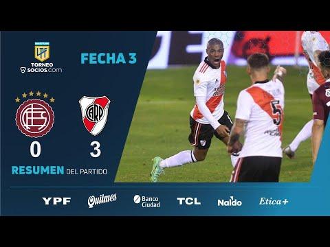 #TorneoSocios | Fecha 3 | resumen de Lanús - River