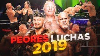 8 PEORES COMBATES DE 2019 | Queremos WWE