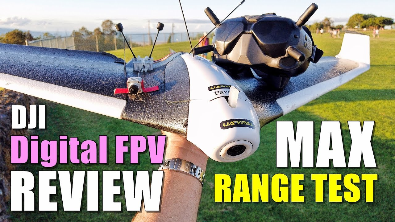 DJI Digital FPV System Review - Maximum Range Test (700mw) How Far on 4GLte Parrot Disco
