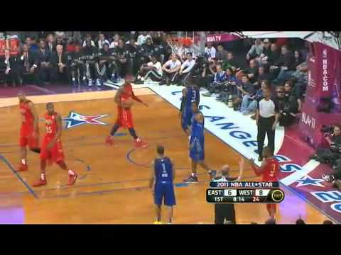 Nba All Star game 2011 East vs West part 4