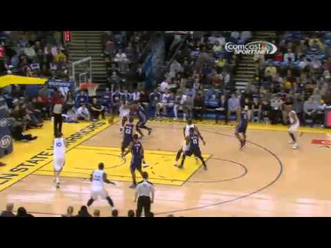 Green BEAUTIFUL Feed to Lee | Charlotte Bobcats Vs Golden State Warriors | 12/21/2012 | NBA 2012/13