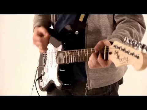 Rocktile Banger\'s Pack E-Gitarre Set, 7-teilig Black - YouTube