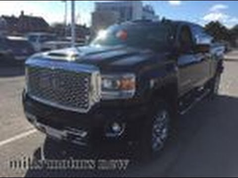 2017 Gmc Sierra 2500hd Denali 4wd Crew Cab Heated And Cooled Seats