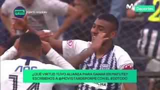 Después de Todo: Alianza Lima ganó 1-0 a Sporting Cristal la primera semifinal en Matute | ANÁLISIS