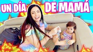 24 HORAS SIENDO MAMÁ DE UN BEBÉ!!!😅 RETO MADRE POR 1 DÍA 😬 Sandra Cires Art