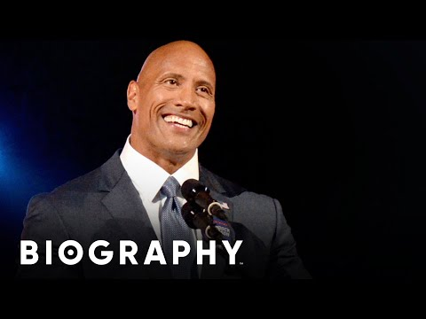 """Dwayne """"The Rock"""" Johnson - From Pro Wrestler to Hollywood Actor 