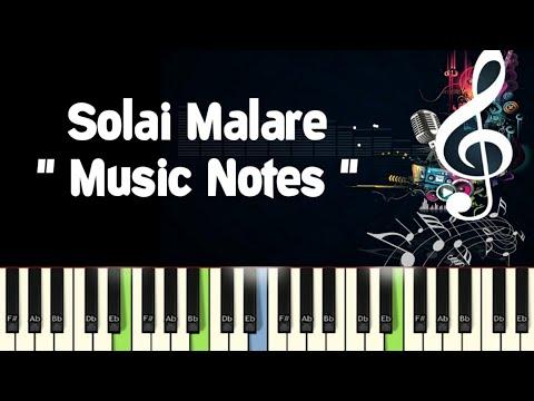 Solai Malare (paattu vaadhiyaar) Ilayaraja /Piano Notes /Midi Files /Karaoke