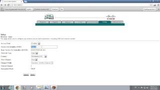 configurar router cisco como accespoint