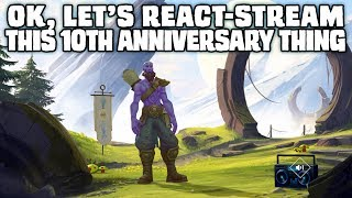 League of Legends 10th Anniversary stream - announcements, reactions & analysis