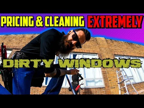 Pricing & Cleaning Extremely Dirty Windows | Kansas City MO