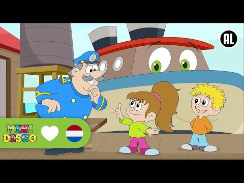 Schipper Mag Ik Overvaren? | Kinderliedjes | TEKENFILM | Peuters en kleuters | Minidisco