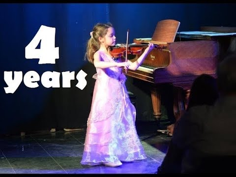 0 - 7 Years Violin Progress