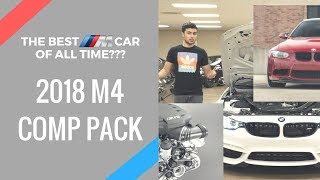 THE BEST ///M CAR OF ALL TIME?? **BMW M4 Competition Package Overview + Exhaust Clip**