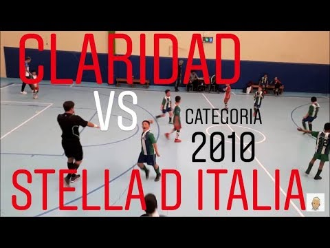 CLARIDAD Vs STELLA D ITALIA (FAFI CATEGORÍA 2010)