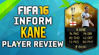 fifa 16 if kane review 81 w in game stats fifa 16 player review