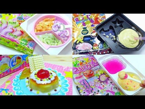 [ASMR] Kracie Japanese DIY Candy Kit Compilation