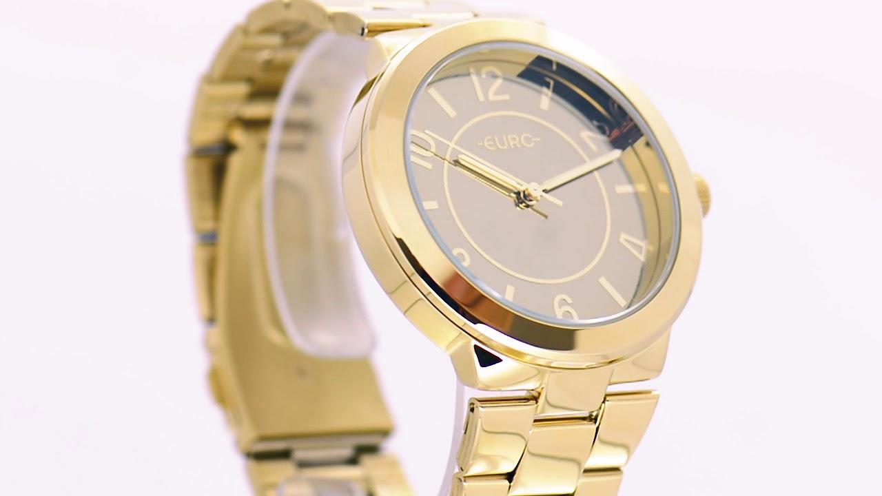 df20db83c4517 Relógio Euro Feminino Trend EU2036YLD 4K - Eclock - YouTube
