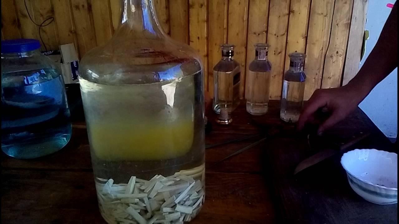 рецепт хреновухи на водке