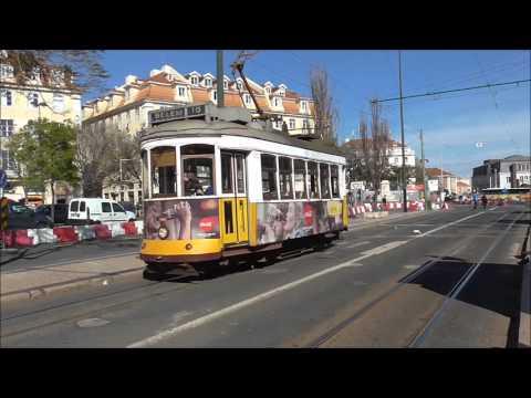 Lisbon Trams Belem - Lisboa - Straßenbahn - eléctrico . villamos