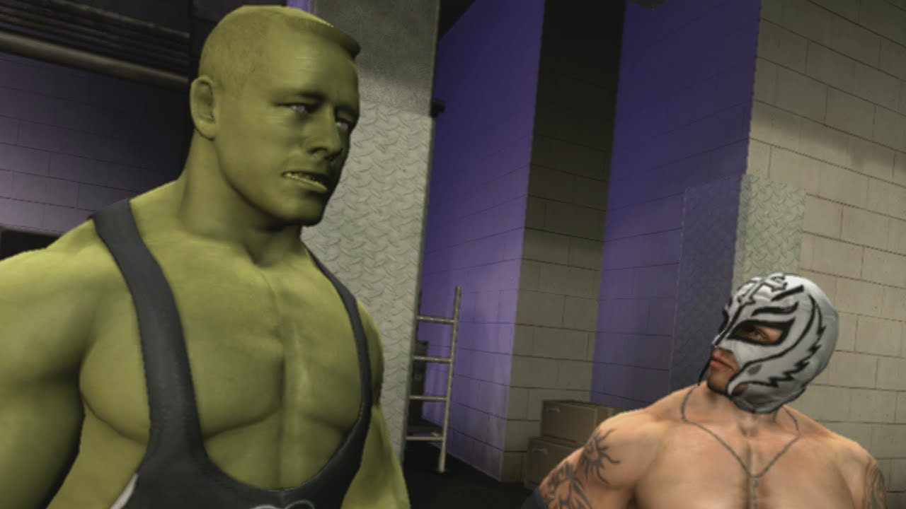 Download TAKER'S ZOMBIE! WWE SVR 2009 - Undertaker's Road to Wrestlemania - EP 6 (WWE Smackdown vs RAW 2009)