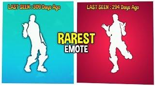 Top 10 Rarest Emotes Dances In Fortnite As Of 19th August Fortnite Battle Royale