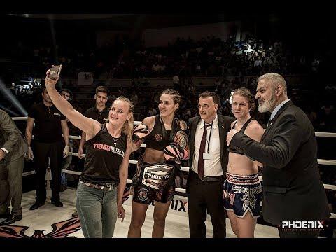 Antonina Shevchenko vs Isa Keskikangas (Sweden) Full Fight. Phoenix 2, Lebanon 2017
