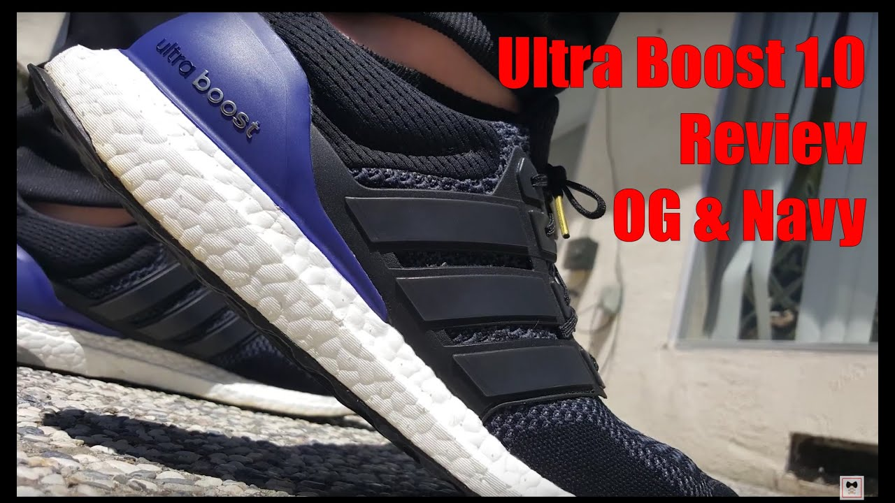 27f327501 SNEAKERstyle: Adidas Ultra Boost 1.0 Review (OG and Navy Colorways ...