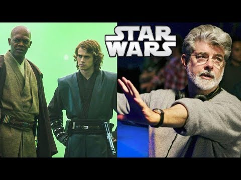 George Lucas Explains Why Mace Quickly Changed his Mind From Arresting to Killing Palpatine  SWT