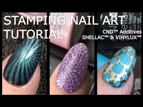 Stamping nail art with shellac vinylux yours youtube prinsesfo Choice Image