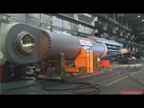 Biggest Mega Heavy Duty Driveshaft Fastest Manufacturing, Amazing Modern Mechanical CNC Machines