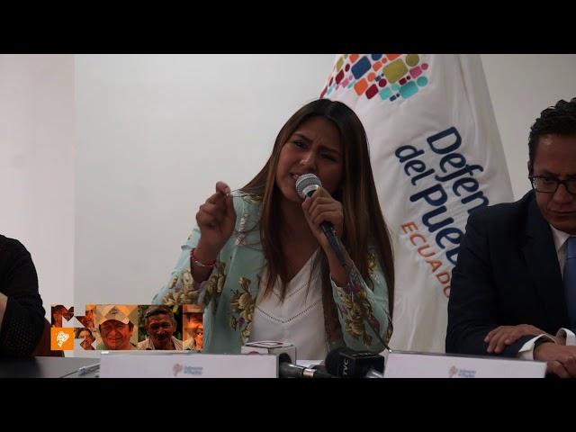 Rueda de Prensa - Acción de Protección por Paridad de Género para Vicealcaldías del país