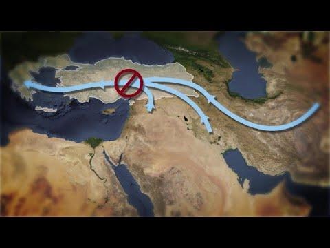 AFP: Les routes migratoires vers l'Europe