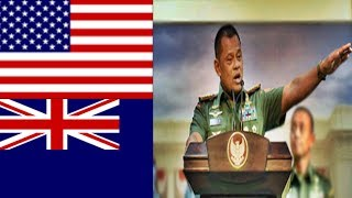 """AS & Australia Tak Terima dengan TNI"""" Jendral Gatot pun Menjad…"""