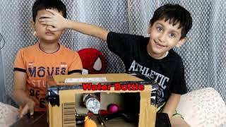 what's in the BOX CHALLENGE !!!!!!!!!!!! Fun challenge for Kids