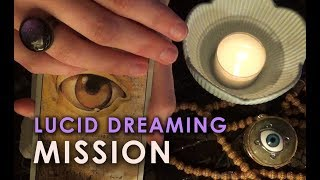 [ASMR] Mission In The Dream Realm - LUCID DREAMING Training Experiment with Hypnosis