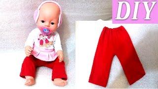 DIY Кукла беби бон. Одежда для Беби бона своими руками