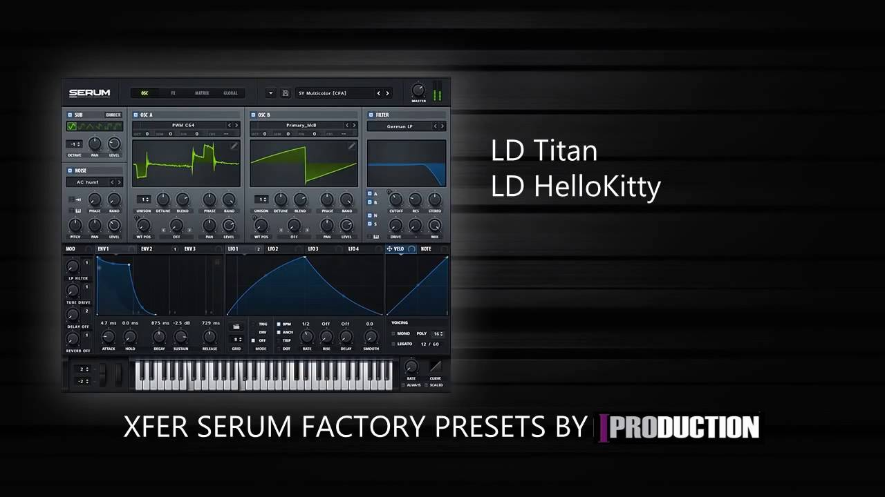 xfer serum factory presets download