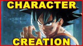 jump force custom character