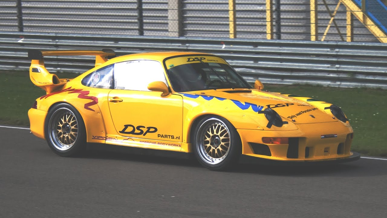 porsche 993 gt2 evo rsr in action epic sound youtube. Black Bedroom Furniture Sets. Home Design Ideas