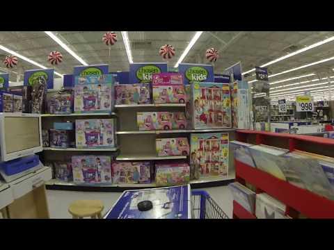 Christmas Shopping at Walmart, 4505 E McKellips Rd, Mesa, Arizona, 22 December 2015, GP010039