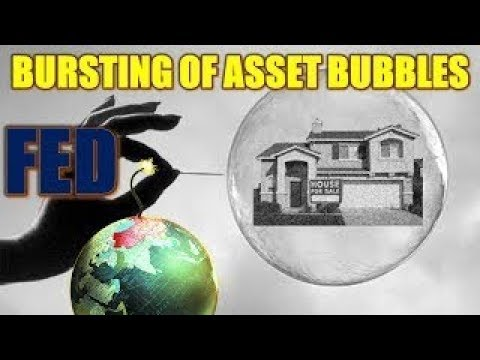 ALERT! Fed Tightening Cycles Coincide With Bursting of Asset Bubbles Are Bursting