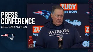 "Bill Belichick after end of 2019 season: ""We appreciate our fans"""
