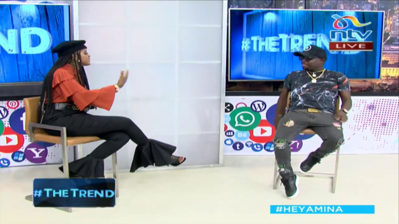 Kenyan artist Gabu on starting his own record label #theTrend