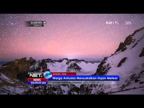 Warga Cina Antusias Menyaksikan Hujan Meteor - NET24