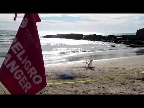 Muere ahogado turista canadiense